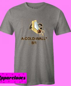 A Cold Wall B1 Gold Yellow T Shirt Size S,M,L,XL,2XL,3XL