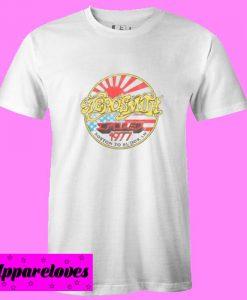 Aerosmith Boston To Budokan 1977 T Shirt