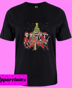 Aerosmith band merry Christmas T Shirt