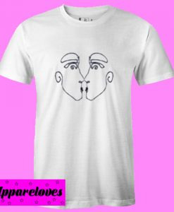 Aesthetic Drawing Twins T Shirt