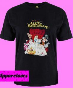 Alice in Wonderland Retro T Shirt