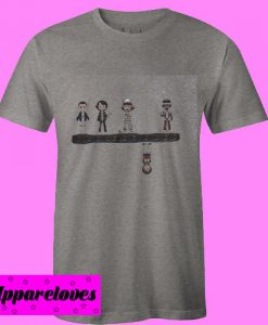 All Attribute Stranger Things Character Art T Shirt