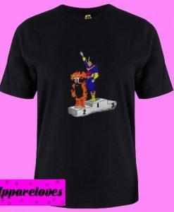 All Might and Enji Todoroki T Shirt