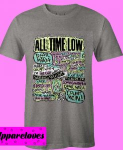 All Time Low Collage T Shirt