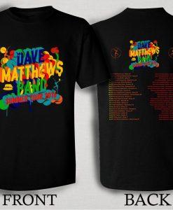 Dave Matthews Band Summer Tour 2016 T Shirt Size S,M,L,XL,2XL,3XL