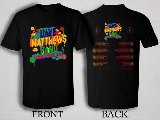 Dave Matthews Band Summer Tour 2016 T Shirt Size S,M,L,XL,2XL,3XL