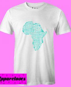 african map T Shirt