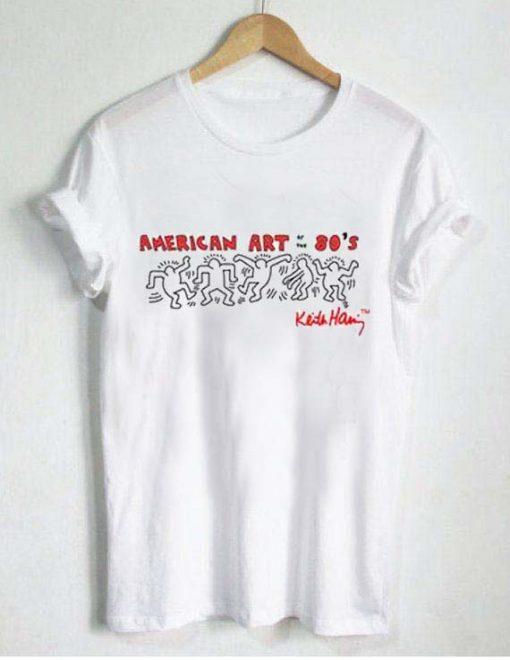 american art ot the 80's T Shirt Size XS,S,M,L,XL,2XL,3XL
