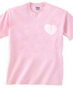 broken heart pink T Shirt Size S,M,L,XL,2XL,3XL