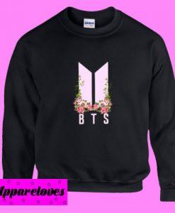 BTS Flower Sweatshirt