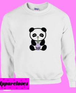 Bubble Tea Boba Panda Sweatshirt