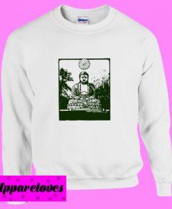 Buddha Statue Inspirational Sweatshirt
