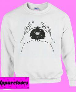 Inner Space Sweatshirt Men And Women