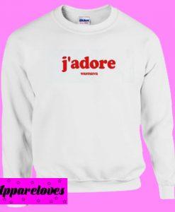 J'adore Sweatshirt Men And Women (2)