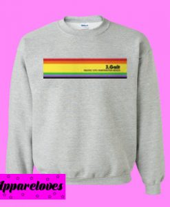 J Galt Rainbow Sweatshirt Men And Women