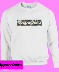 Kappa Delta Camo Sweatshirt Men And Women