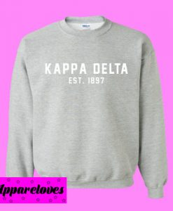 Kappa delta est 1897 Sweatshirt Men And Women
