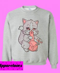 Kitty Bong Sweatshirt