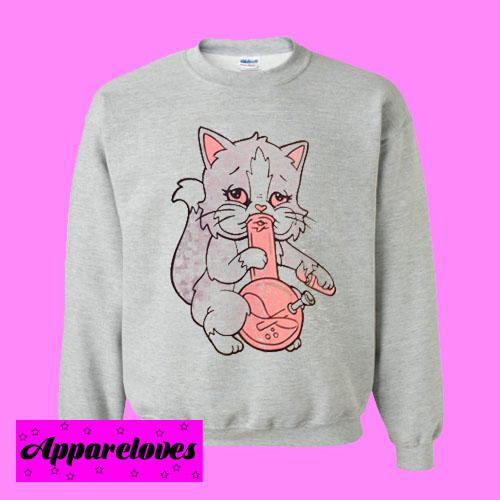 Kitty Bong Sweatshirt