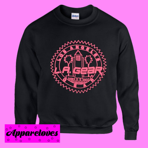 LA GEAR Los Angeles Sweatshirt Men And Women