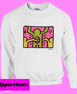 keith haring Sweatshirt Men And Women