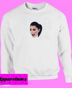 kim kardashian cry Sweatshirt