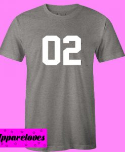 02 Dark Grey T shirt