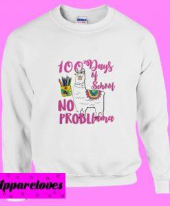 100 Days School LLama Sweatshirt