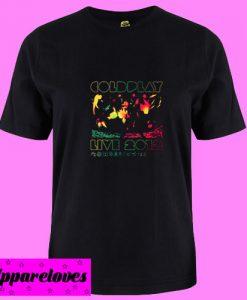 2012 Australian Tour Coldplay T shirt