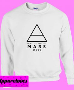 30 Seconds To Mars Sweatshirt