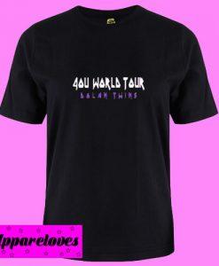 4ou World Tour Dolan Twins T shirt