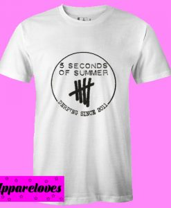 5 Seconds Of Summer Derping Since 2011 T-Shirts