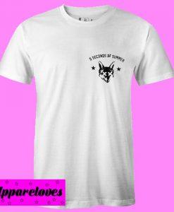 5 Seconds Of Summer fox head T shirt
