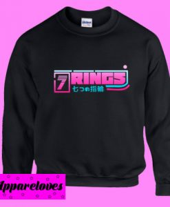 7 Rings Japanesse Sweatshirt