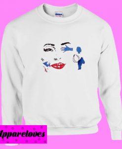 All in Face Sweatshirt