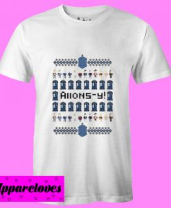 Allons Y doctor who ugly T Shirt