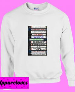 Amy Santiago Sex Tape Collection Video Tapes Brooklyn 99 nine nine Sweatshirt