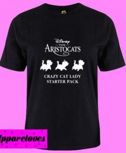 Aristocats crazy cat lady T Shirt