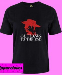 Arthur Morgan Outlaws to the end T Shirt