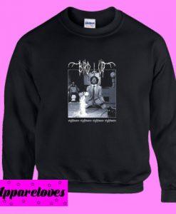 BIRD UP Nightmare Death Metal Sweatshirt