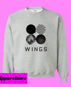 BTS Wings Classic Sweatshirt
