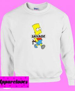 Bart Simpson Savage Sweatshirt