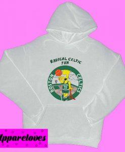 Bart Simpsons Radical Celtics Hoodie pullover