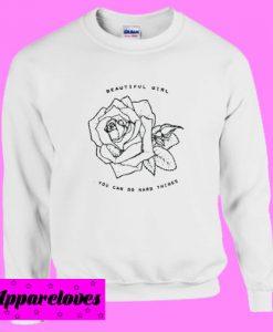 Beautiful Girl Sweatshirt