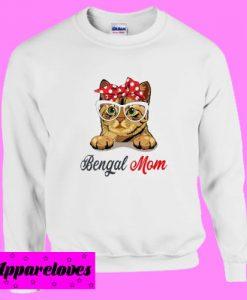 Bengol Mom cat Sweatshirt