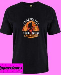 Bigfoot Undefeated T Shirt