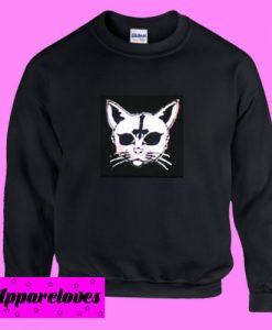 Black Cat Cross Sweatshirt