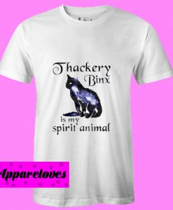 Black cat Thackery binx is my spirit animal T Shirt