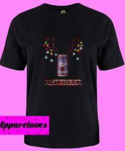 Blue Moon reinbeer Christmas T Shirt