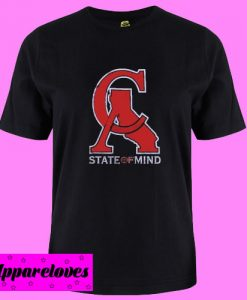 CA State Of Mind T Shirt